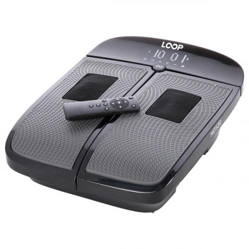 Masážní přístroj na chodidla SKY LOOP MDS20 z profilu + ovladač